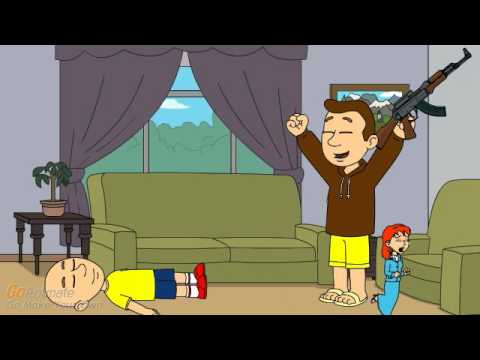 Banjo Kills Caillou And Gets Grounded BIG TIME! THE MOST VIEWED