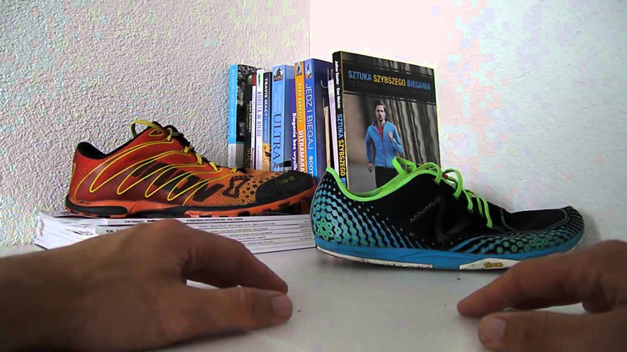 Odia papa Contratar  Inov-8 f-lite 192 vs New Balance MR00v2 - YouTube