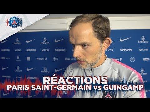 RÉACTIONS: PARIS SAINT-GERMAIN vs GUINGAMP