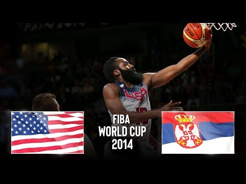 🔴 - USA 🇺🇸 v Serbia 🇷🇸 - Classic Full Games | FIBA Basketball World Cup 2014