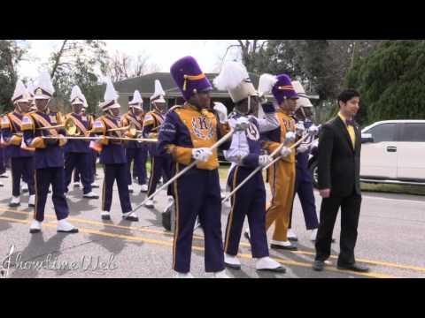 Edna Karr High Band  - 2016 NOMTOC Mardi Gras Parade