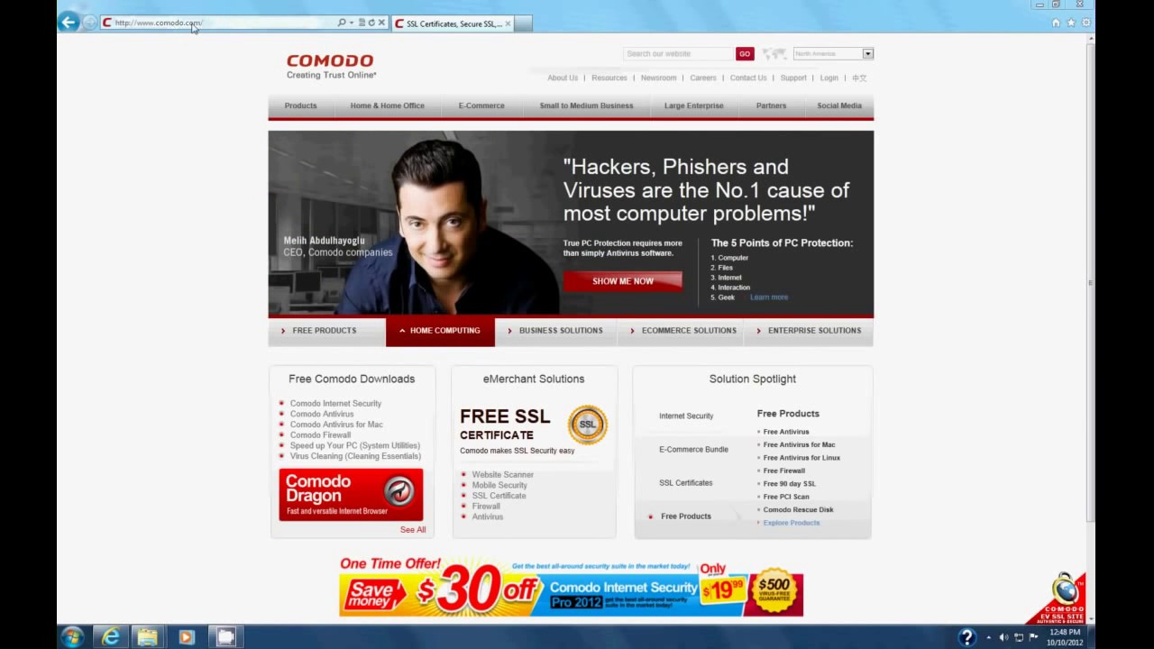How to get a free email certificate from comodo tags how to get a free email certificate from comodo tags application software xflitez Images