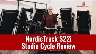 NordicTrack Commercial S22i Studio Cycle Review