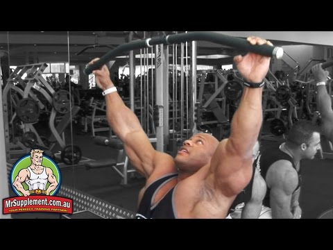 Phil Heath's Lat Pull Down   Back Exercise #1