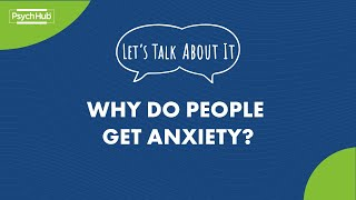 #LetsTalkAboutIt: Why Do People Get Anxiety? [And 5 Things That Trigger It]