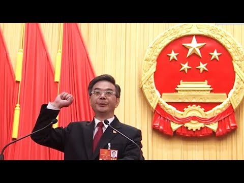 Zhou Qiang elected president of China's Supreme People's Court