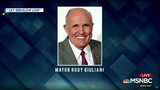 Ari Melber Slams Rudy Giuliani For Lying To Shield Trump From Mueller