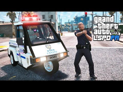GTA 5 - LSPDFR Ep542 - You Call This a Cop Car?!