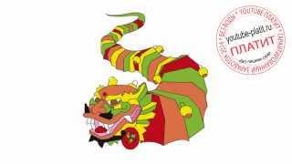 Как нарисовать китайского праздничного дракона карандашом(Как нарисовать дракона поэтапно простым карандашом за короткий промежуток времени. Видео рассказывает..., 2014-06-29T07:46:56.000Z)