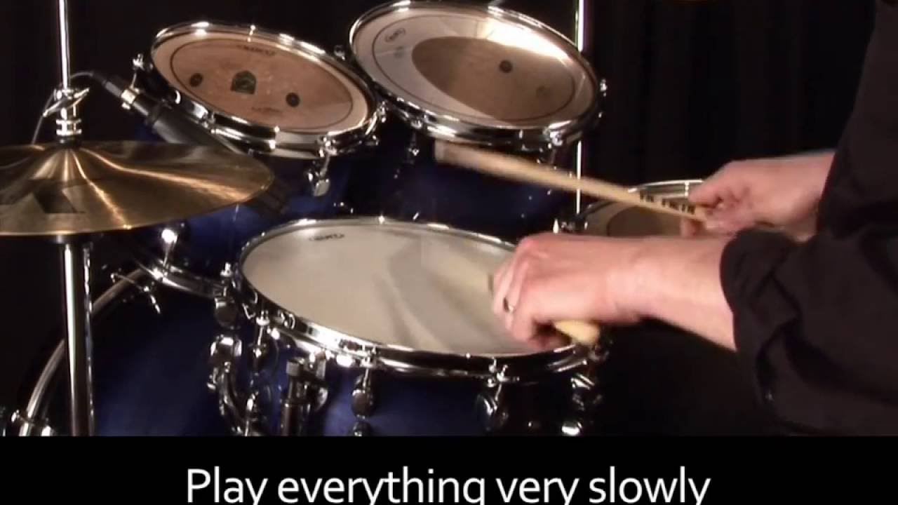 Learn Drums Lesson 19 - Four Stroke Ruff