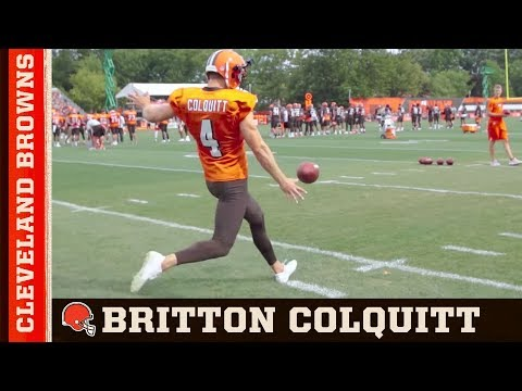 Britton Colquitt, The Life of a Punter | Cleveland Browns
