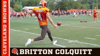 Britton Colquitt, The Life of a Punter