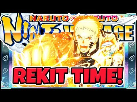 7th Hokage Naruto Uzumaki Rekit Review, Update And Summons - Naruto X Boruto Ninja Voltage