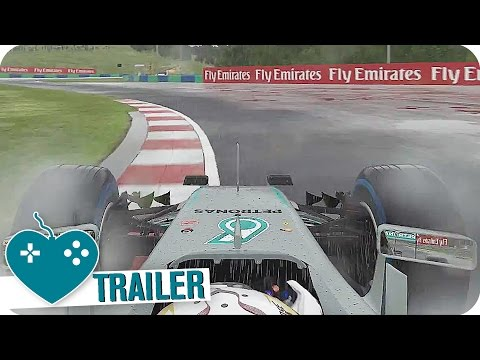 F1 2016 Hungaroring Gameplay Trailer (2016) PS4, Xbox One, PC Game