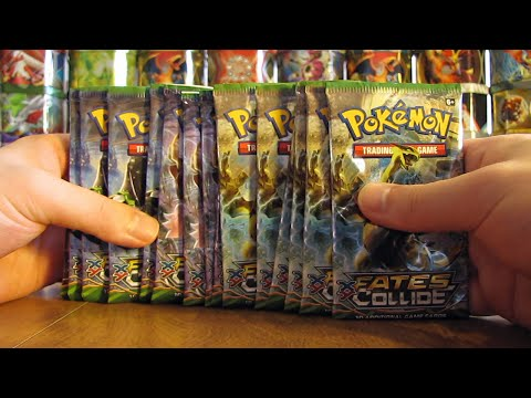 15 Pokemon Fates Collide Booster Pack Opening