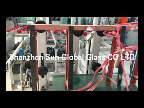 Glass cut and edge production process