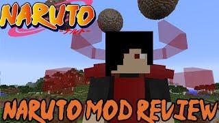 NEW SHARINGAN, SUSANOO, JUTSUS & More! || Minecraft Naruto Mod Review (Sekwah's Naruto Mod)