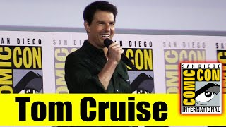 TOM CRUISE Surprises Fans at Comic Con for TOP GUN: MAVERICK | 2019 Comic Con