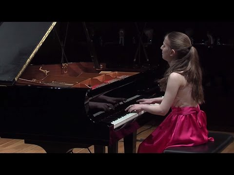 Natalie Schwamová – Chopin Piano Competition 2015 (preliminary round)