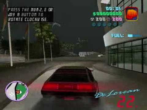 Back to the Future in GTA Vice City (Part 1)