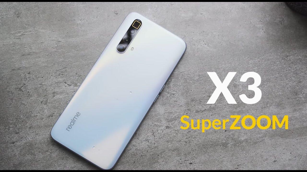 video Realme X3 SuperZoom