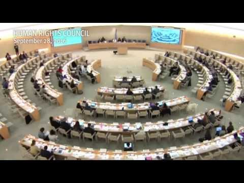 HRC33: Interactive dialogue with the Independent Expert on Sudan - Laila Matar