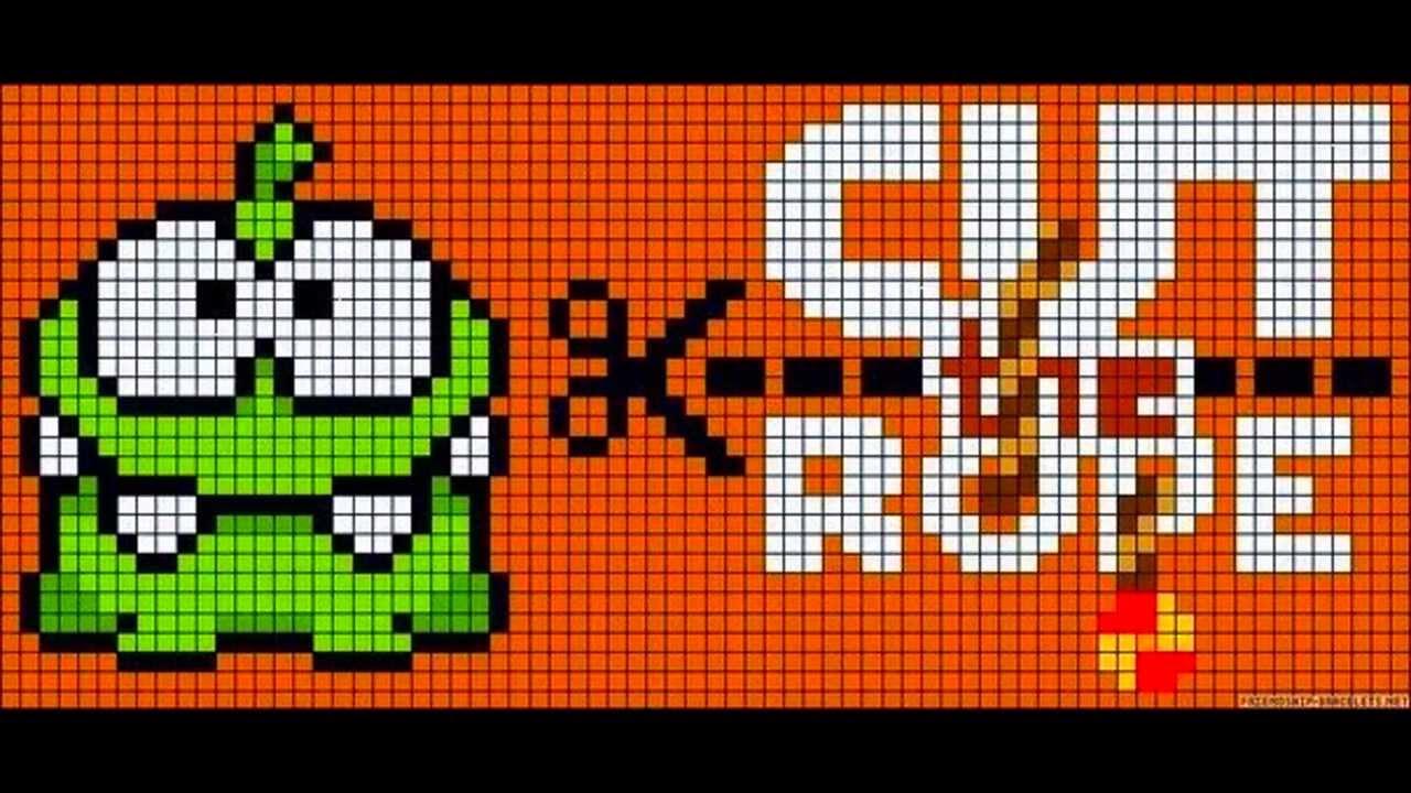 Схемы для фенечек или картинки по клеткам - YouTube