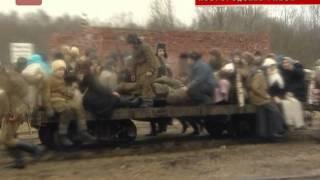 В поселке Тесово Нетыльский Новгородского района прошла масштабная военно историческая рек