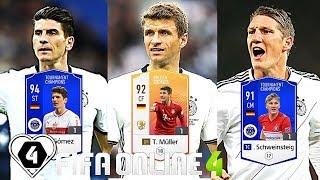 """FIFA ONLINE 4: BUILD & TEST DÀN TEAM """" CỖ XE TĂNG """" GERMANY ĐỨC Tung Hoành XẾP HẠNG - ShopTayCam.com"""