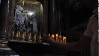 Церковные свечи в Италии (церковь Санта Мария Мад-жоре)(, 2016-05-19T03:18:51.000Z)