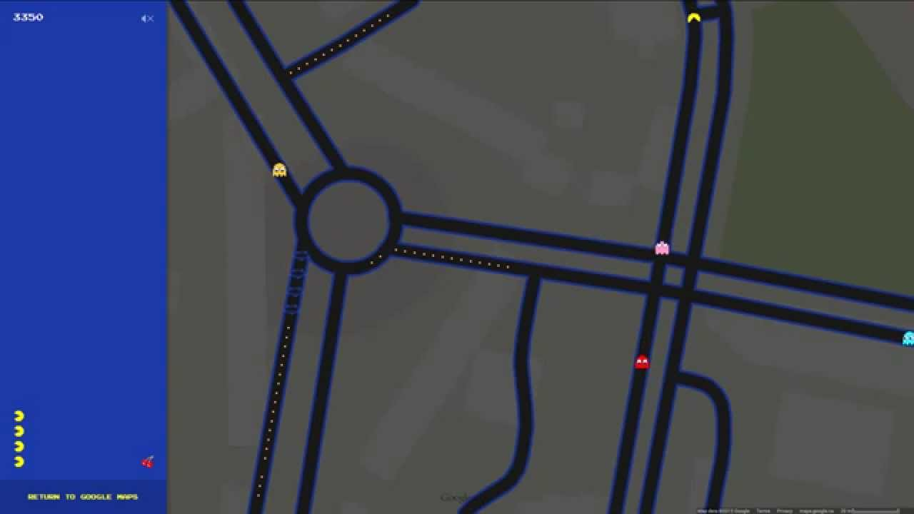 Google Maps Pacman in Norilsk Russia YouTube