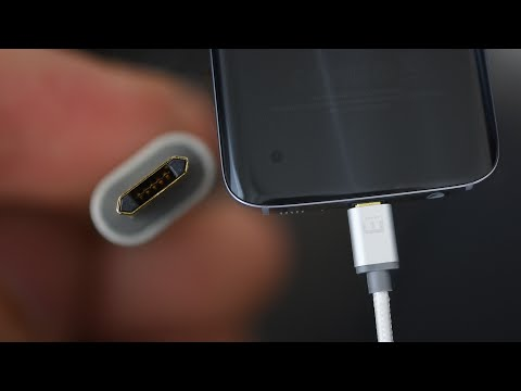 Reversible Micro USB cable for Galaxy S7