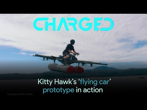Watch Kitty Hawk's 'flying car' prototype in action