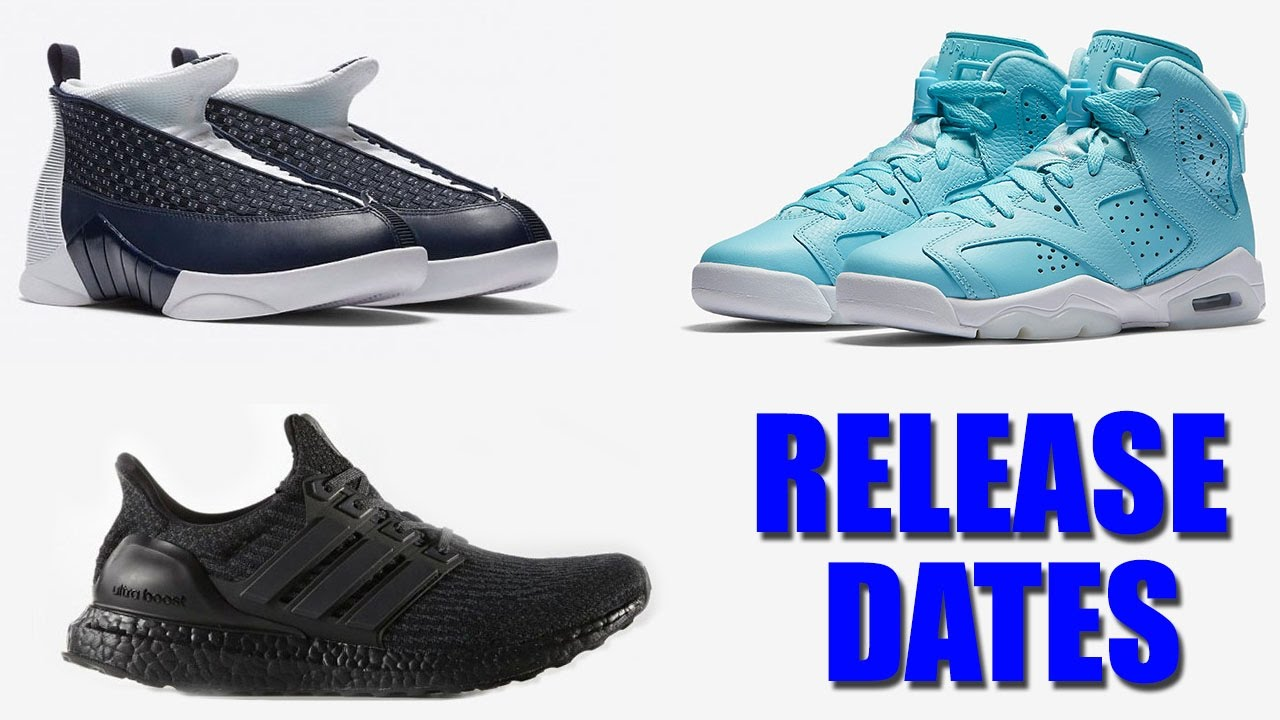 new products ee9fe 4a007 Air Jordan 15 Obsidian, Jordan 6 Pantone, Ultra Boost 3.0 Triple Black  Release Date and More