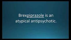 How to pronounce brexpiprazole (Rexulti) (Memorizing Pharmacology Video Flashcard)