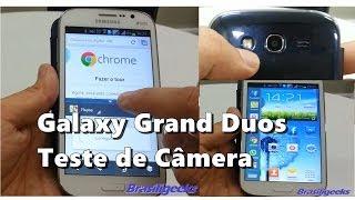 Galaxy Grand Duos - Teste de Câmera