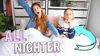 All nighter challenge + 24 hour closet challenge! Ft. Hope Marie