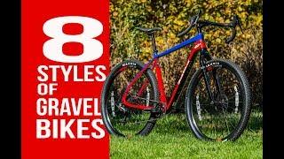 8 STYLES OF GRAVEL BIKES