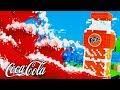 BASE DE FANTA VS TSUNAMI DE COCA COLA EN MINECRAFT | RETO DE LA BASE VS TSUNAMI MINECRAFT