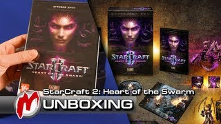 ❐ StarCraft 2: Heart of the Swarm — Распаковка: Collector's Edition + коды