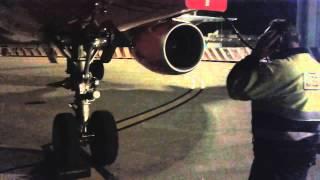 Baltic ground services, engine start.