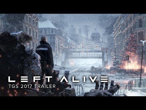 شاهد أول لقطات لعب Left Alive في هذا العرض