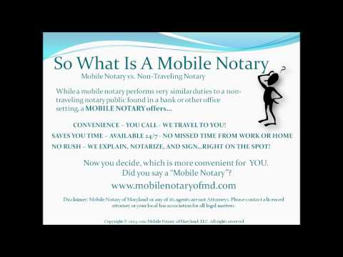 Notary Maryland - Notaries