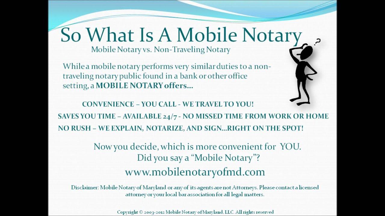 Notary Maryland  Notaries