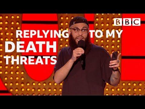 Texting back Neo-Nazis 😱   Live At The Apollo - BBC