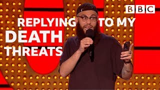 Texting back Neo-Nazis 😱 | Live At The Apollo - BBC thumbnail