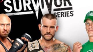 "WWE Survivor Series 2012 Official Theme Song ""Outasight - Now or Never"" [HD]"