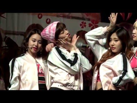 160403 TWICE 1st mini Album Special eventⅡ 정연 fancam(part2)