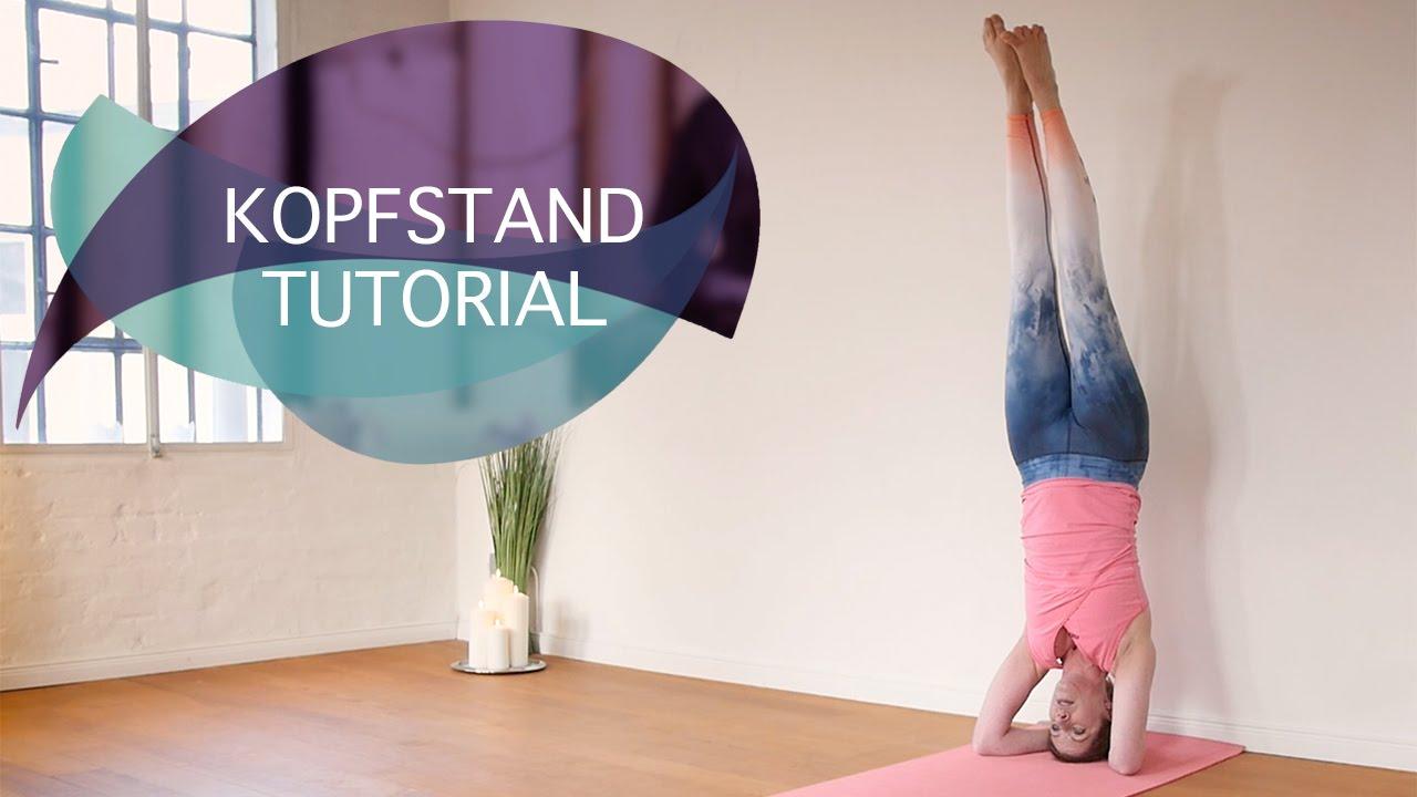 Kopfstand Tutorial: Yoga Kopfstand richtig üben // FlexibleFit Yoga FlexibleFit
