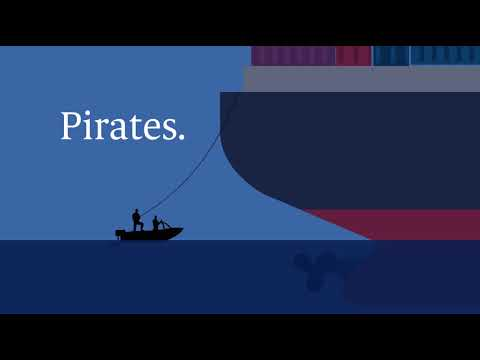 Arrgghh! Pirates steal your cargo. Are you insured?